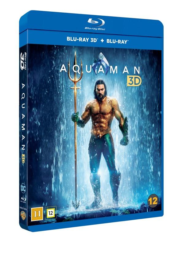 Aquaman - 3D Blu ray