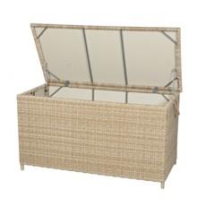 Vila - Gotland Cushion Box - Nature/Off White (624699)