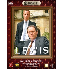 Lewis: Box 11 (Episodes 25-27) (2-disc) - DVD
