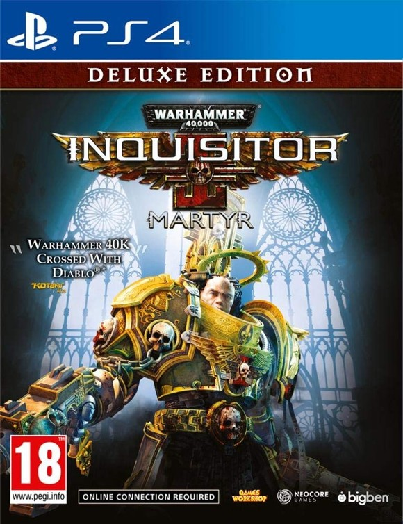 Warhammer 40,000: Inquisitor - Martyr - Deluxe Edition