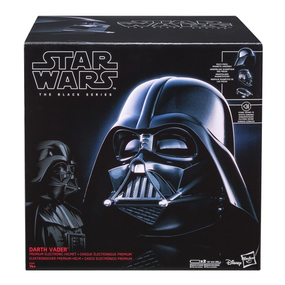 Star Wars: Darth Vader Electronic Helmet Black Series Replica