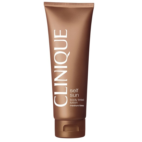 Clinique - Self Sun Body Tinted Lotion Medium - Deep Selvbruner 125 ml.