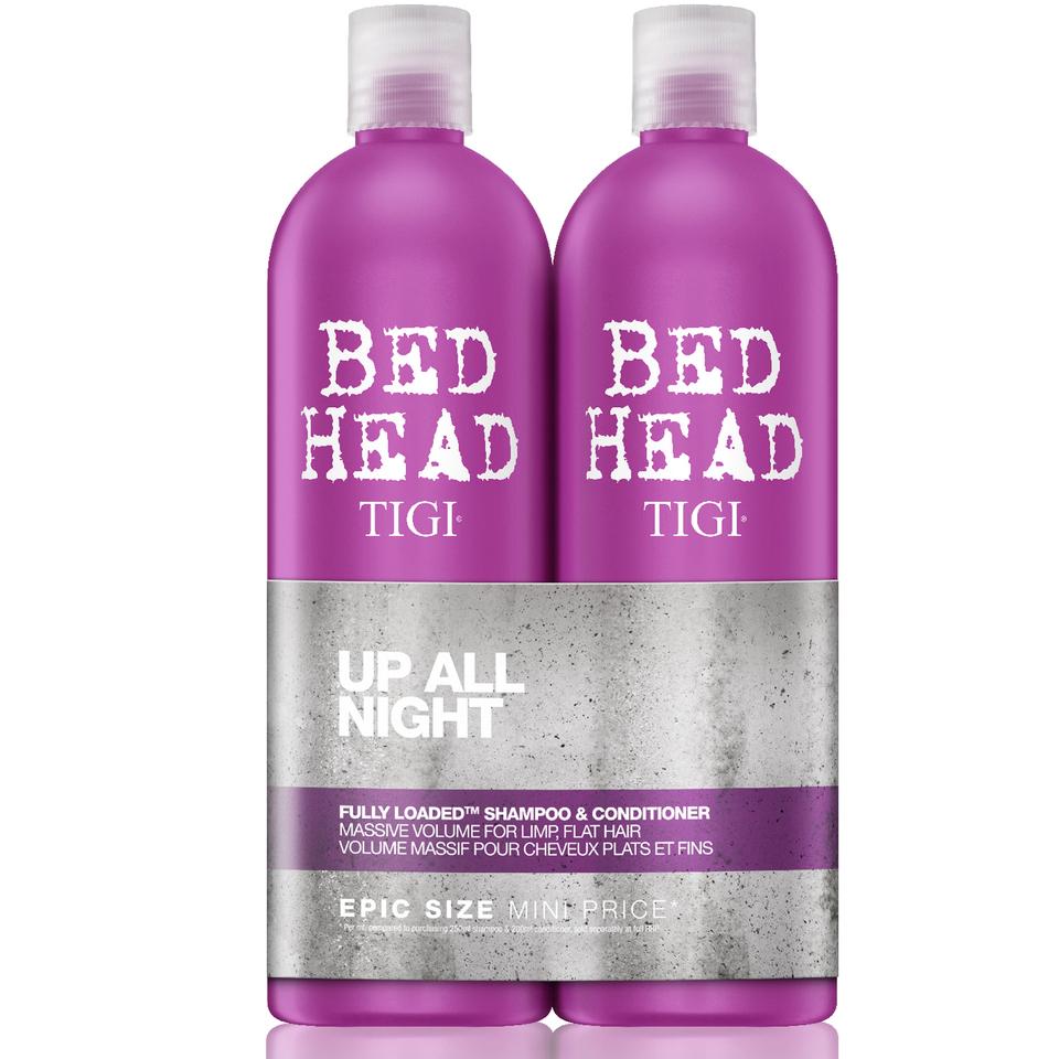 TIGI - Bed Head Fully Loaded Massive Volume Shampoo + Conditioner 2x 750 ml