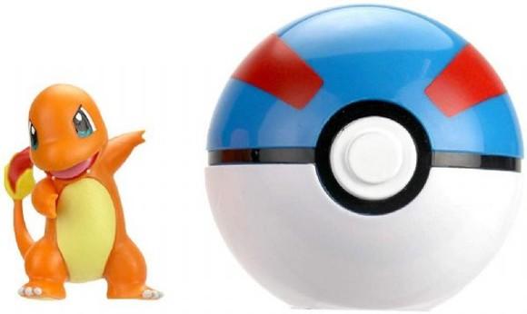 Pokemon - Clip'N Go - Charmander (5 cm)