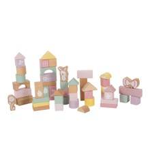 Little Dutch - Pink Wooden Blocks, 50 pcs (LDW4412)