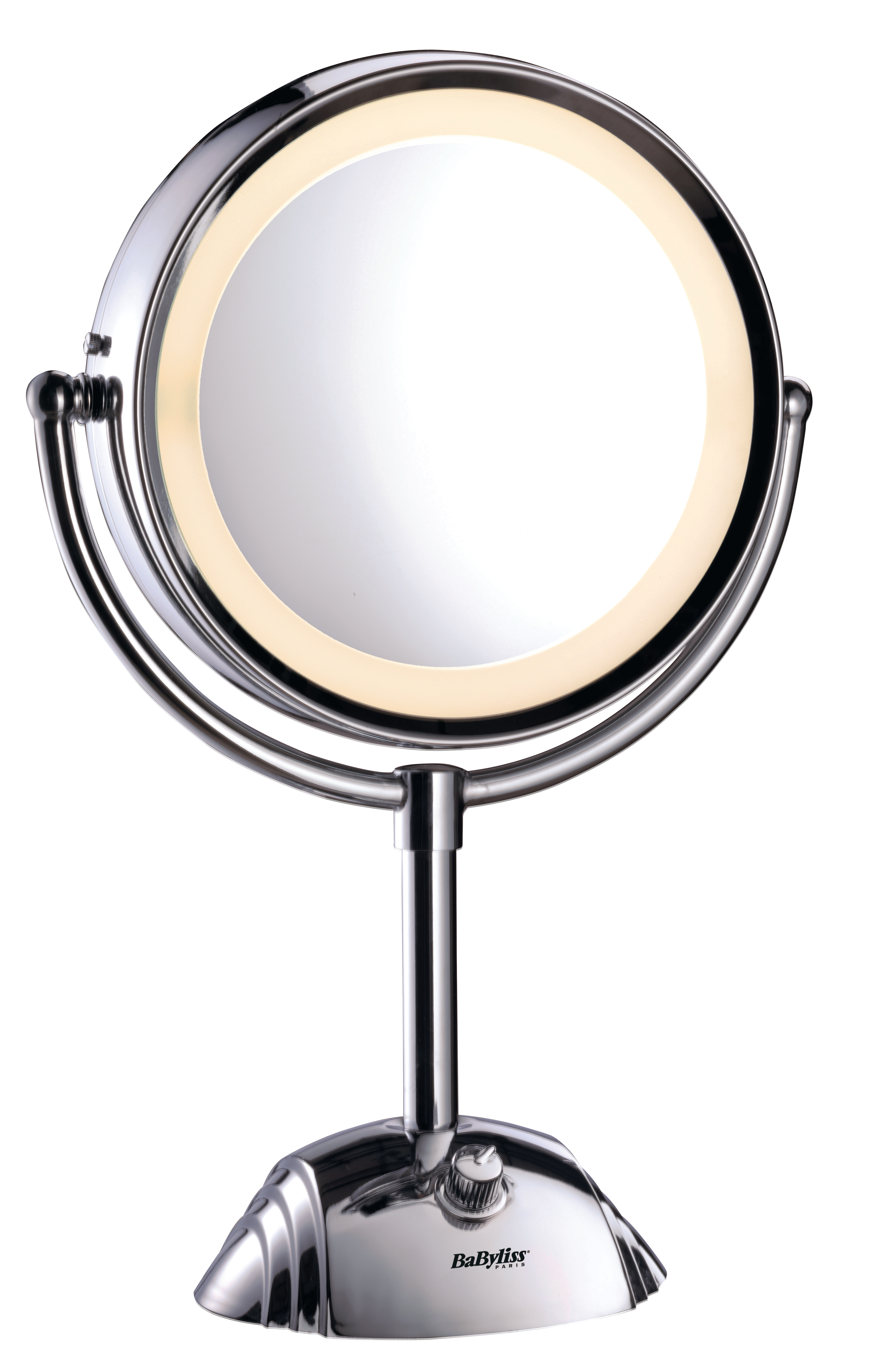 BaByliss - Two Sided Makeup Mirror w. Light