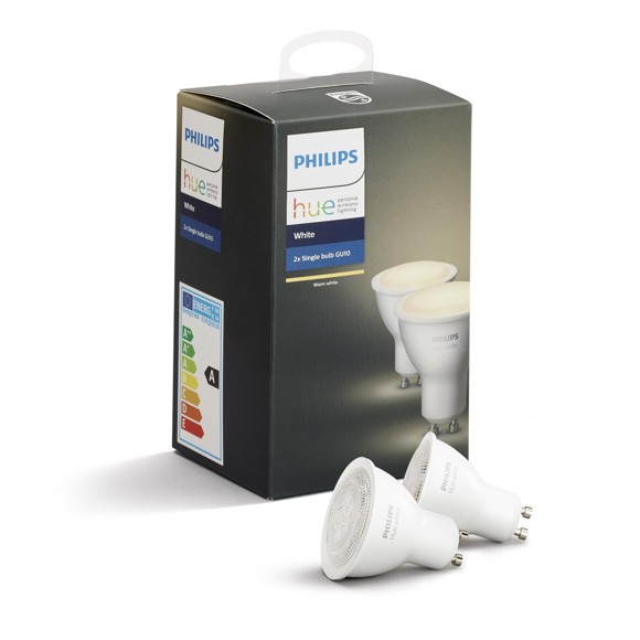 Philips Hue - GU10 2-pack - White - Bluetooth