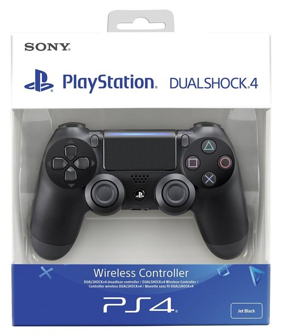 Neuer Sony Dualshock 4 Controller v2 - Schwarz