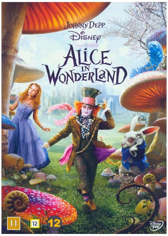 Alice in Wonderland (Tim Burton) - DVD