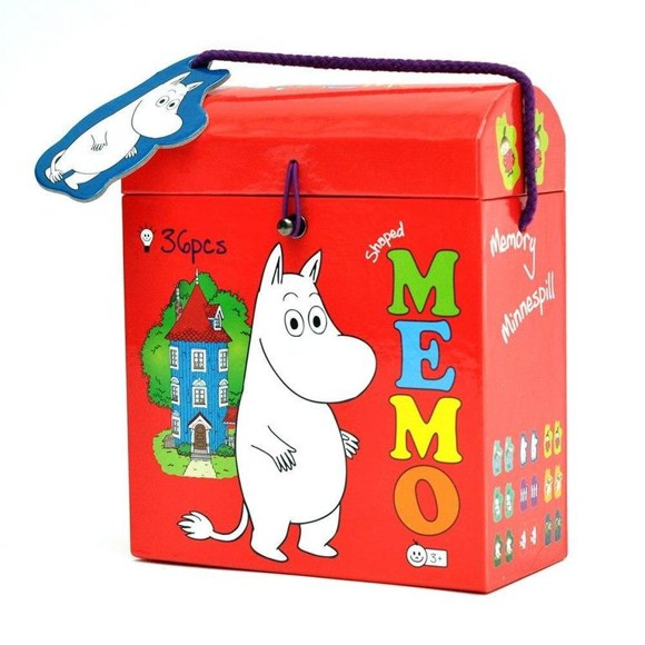 Barbo Toys - Moomin Memory in shaped box (7101)