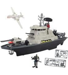 Soldier Force - Hurricane Battleship Playset (545065)