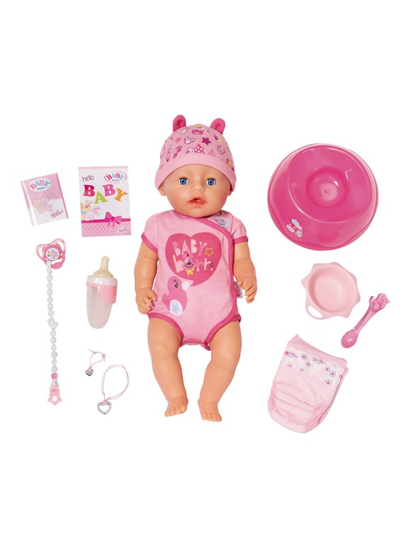 Baby Born - Soft touch Girl with blue eyes (824368)