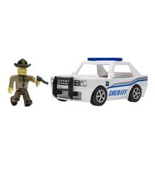 Roblox - Politibetjent - Køretøj m. Figur