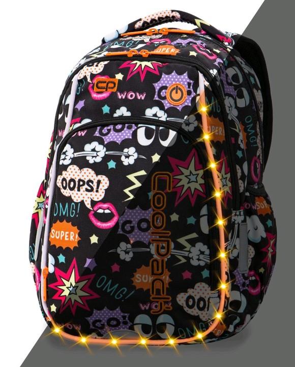 Coolpack - LedPack Schoolbag - Comics