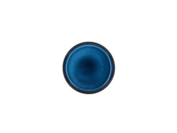 Bitz - Gastro Frokosttallerken 21 cm - Sort/Mørkblå