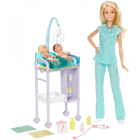 Barbie - Baby Doctor Playset (DVG10)