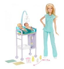 Barbie - Børnelæge Legesæt