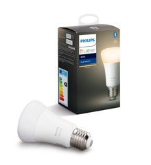 Philips Hue - E27 Single Bulb - Warm White - Bluetooth