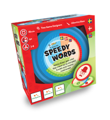Speedy Words - Boardgame (Nordic)