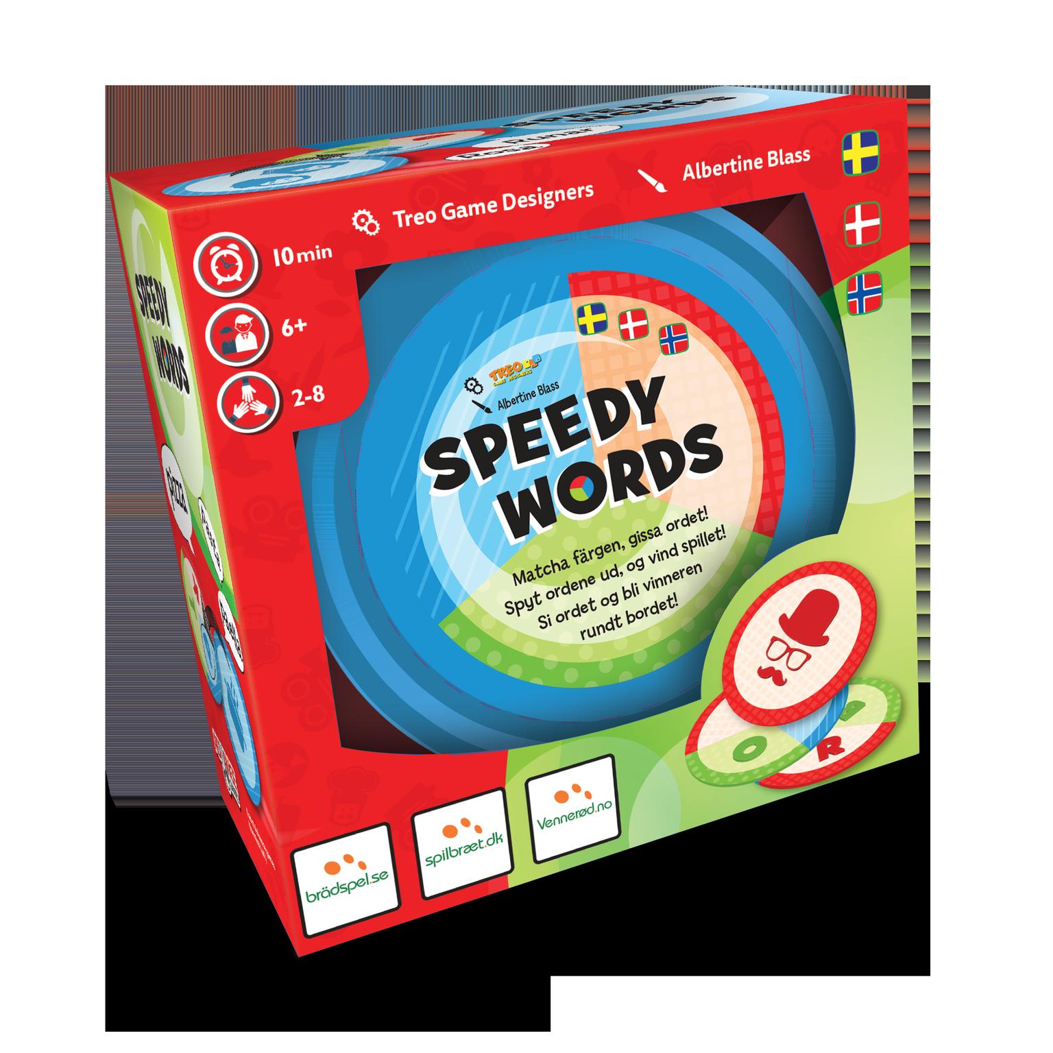 Speedy Words - Brætspil (Nordisk)