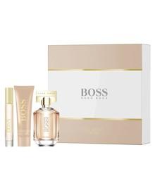 Hugo Boss - The Scent For Her EDP 50 ml + Body Lotion 50 ml + Portable Spray 7.4 ml - Giftset