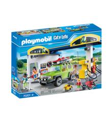 Playmobil - Benzin Tankstation (70201)