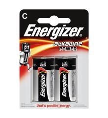 Energizer - Battery C/LR14 Alkaline Power 2-Pack