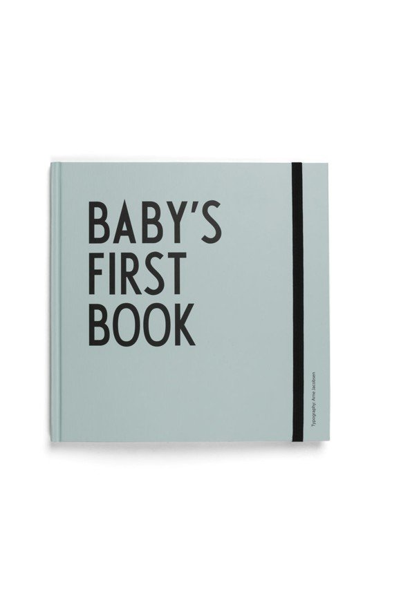 Design Letters - Baby's First Book - Turkis