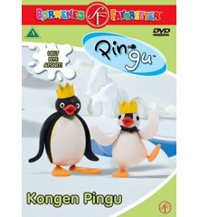 Pingu 7: Kongen Pingu - DVD