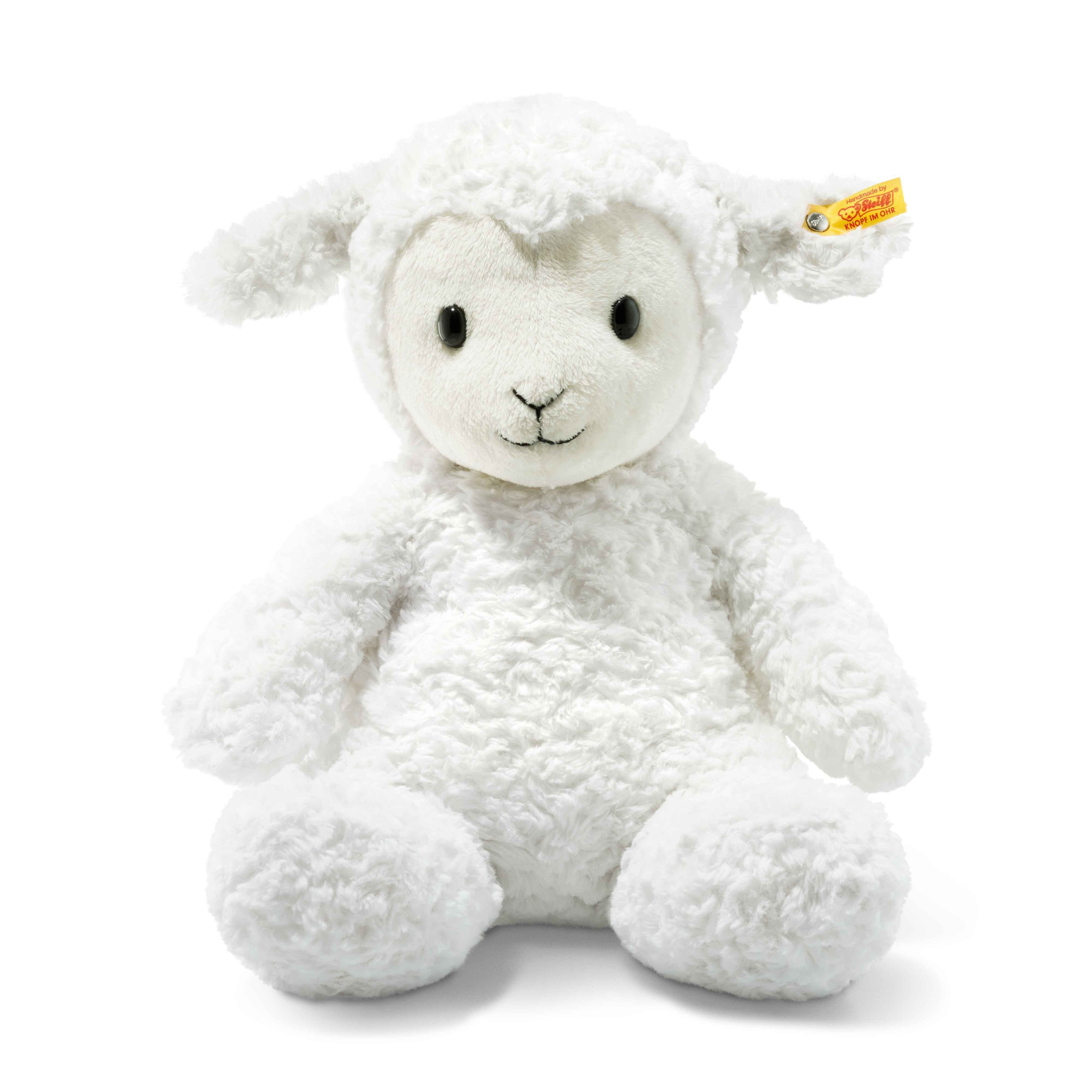 Steiff - Soft Cuddly Friends Fuzzy Lamb, 38 cm