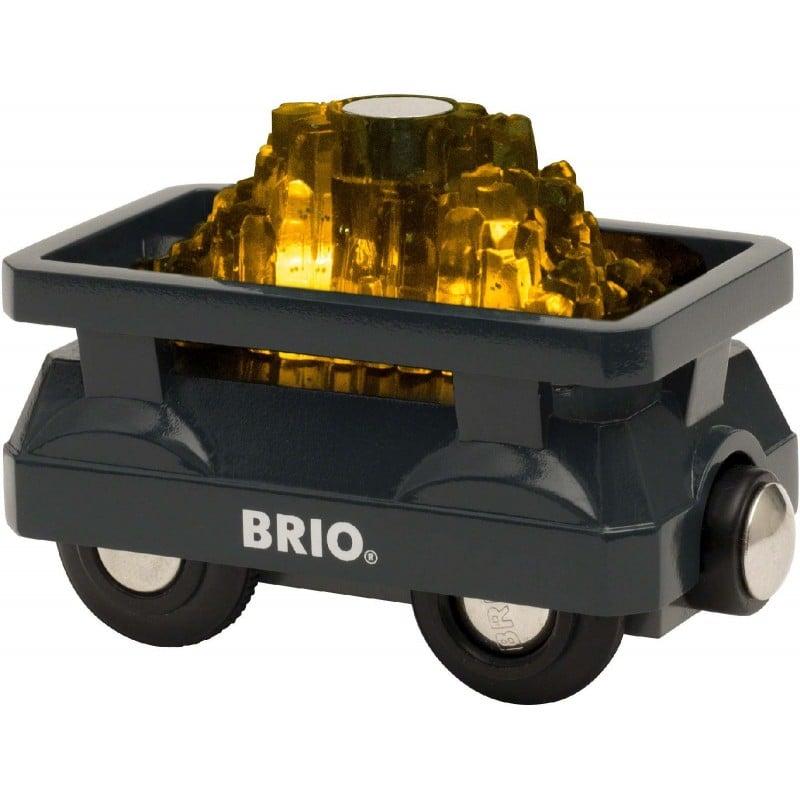BRIO - Guld Vogn med Lys (33896)