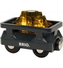 BRIO - Light Up Gold Wagon (33896)