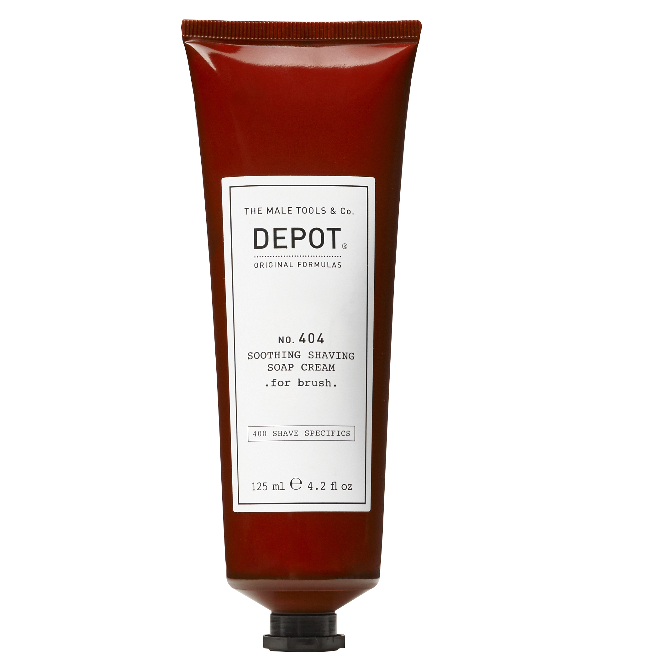 Depot - No. 404 Soothing Shaving Soap Cream for Brush 125 ml