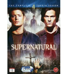 Supernatural: Sæson 4 - DVD