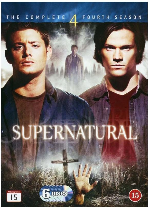 Supernatural: Season 4 - DVD