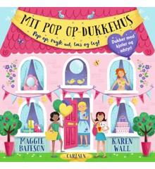 Børnebog med Flapper -  Mit pop op-dukkehus
