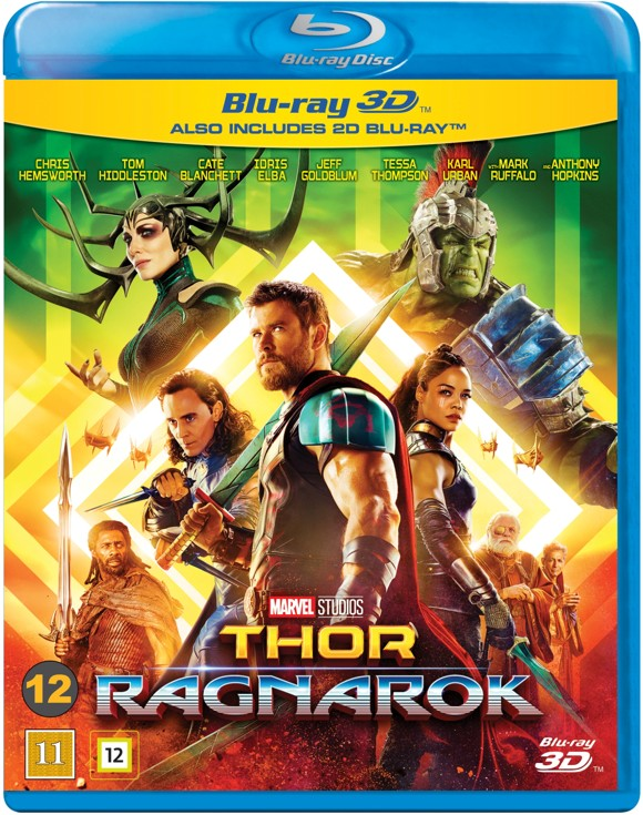 Thor 3: Ragnarok (3D Blu-Ray)
