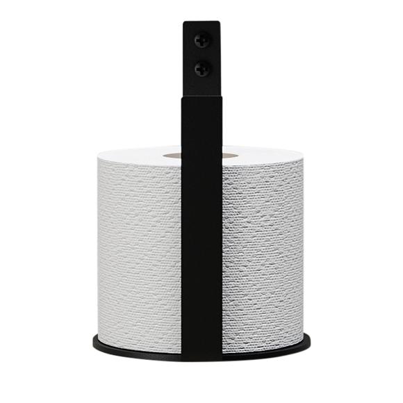 Nichba-Design - Toiletpapir Holder Ekstra - Black (L100113)