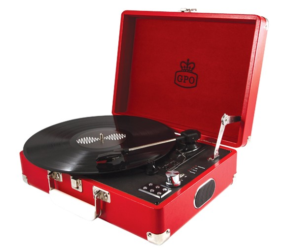GPO ATTACHÉ Turntable - Red