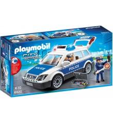 Playmobil - Politipatrulje med lys og lyd (6920)