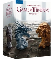 Game of Thrones Sæson 1-7 box-set (Blu-Ray)