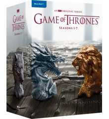 Game of Thrones Season 1-7 box-set (Blu-Ray)