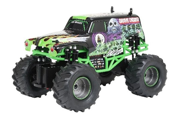 New Bright - Monster Jam 1:15 Grave Digger - Grøn