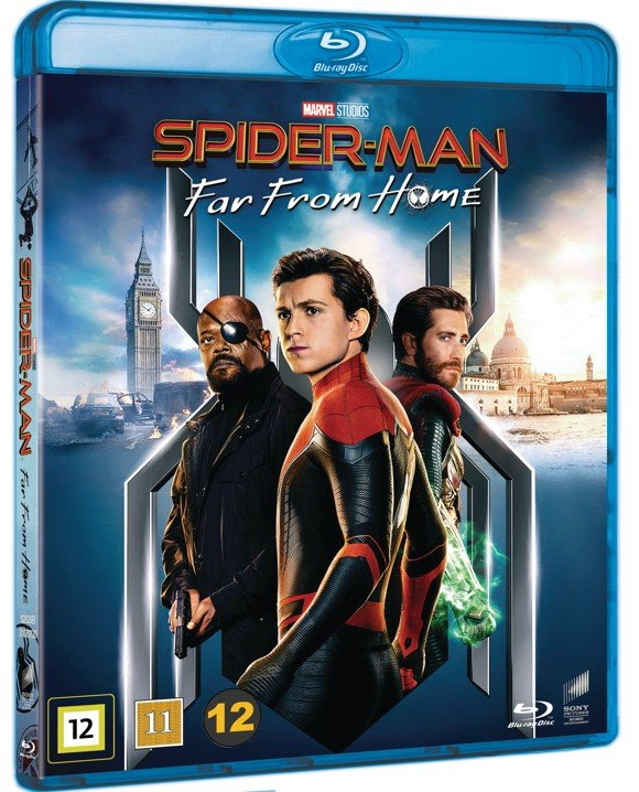 Spider-Man: Far From Home- Blu ray