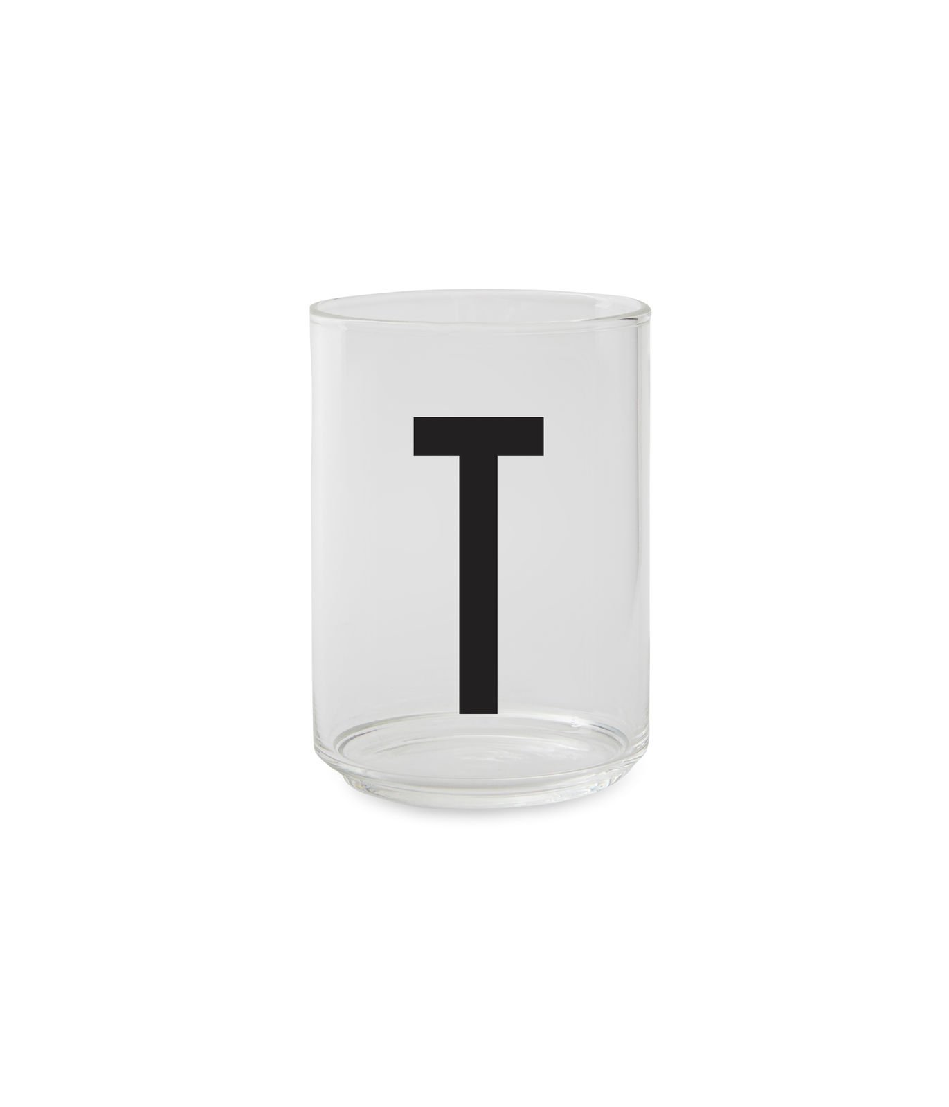 ​Design Letters - Personal Drinking Glass T (10205000T)