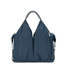 Lässig  - Wickeltasche - Green Label - Neckline Bag - Blue Melange