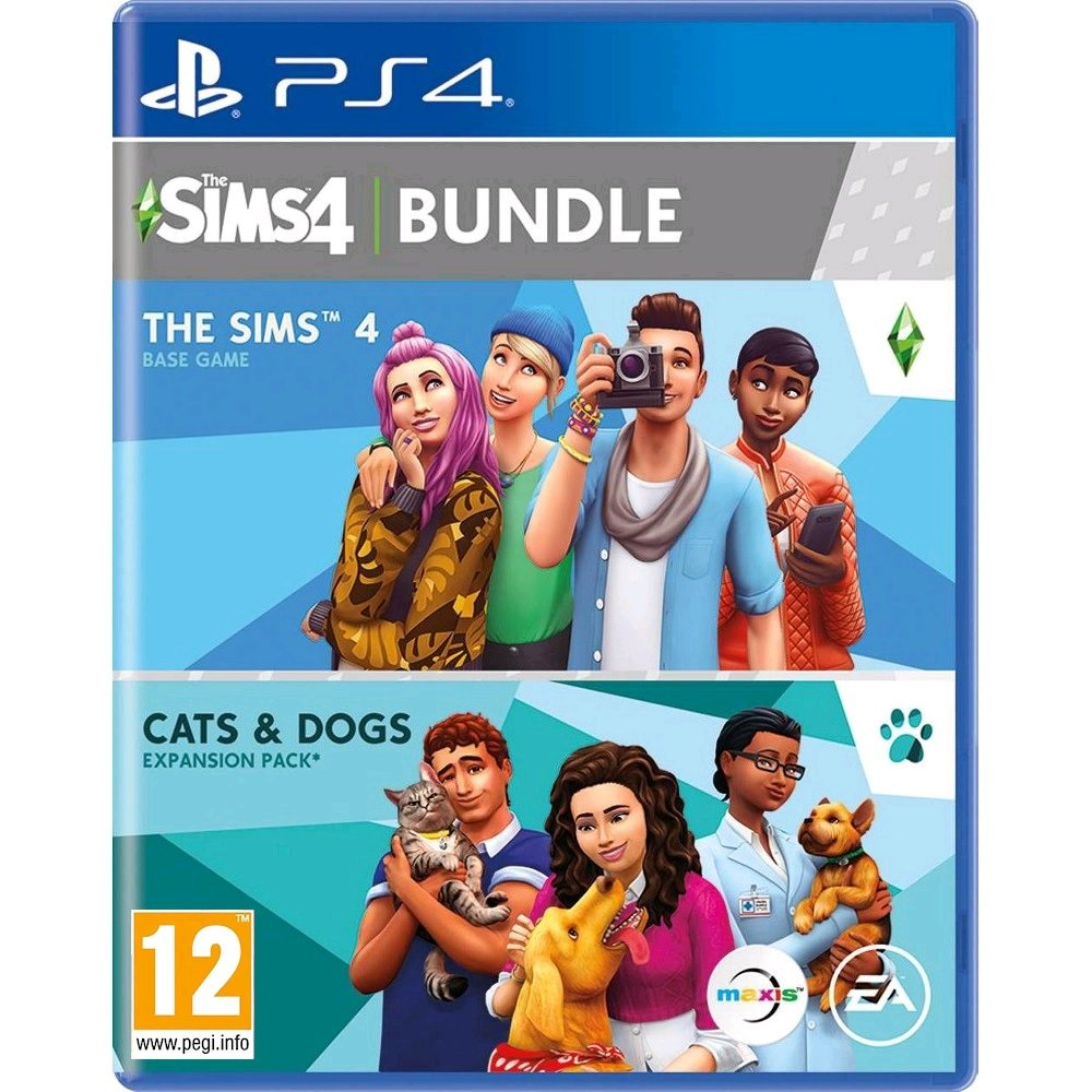 The Sims 4 & The Sims Cats & Dogs Bundle (Nordic)