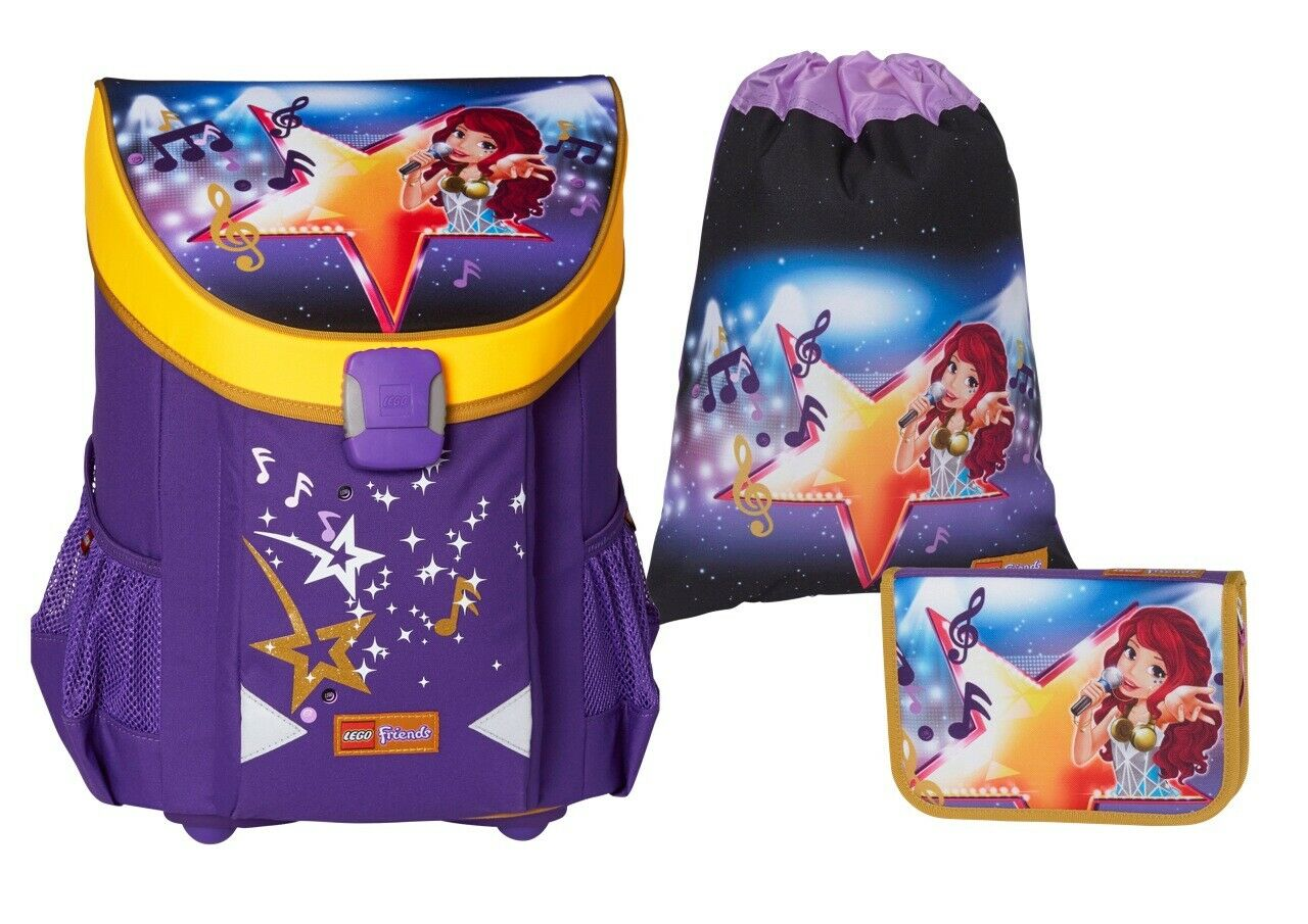 LEGO - Easy School Bag Set - Friends - Popstar (16075 /20015-1705)