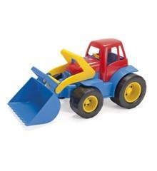 Dantoy - Traktor med Plastik Hjul (2129)