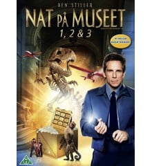 Nat på museet 1-3/Night at the Museum 1-3 (3 disc)